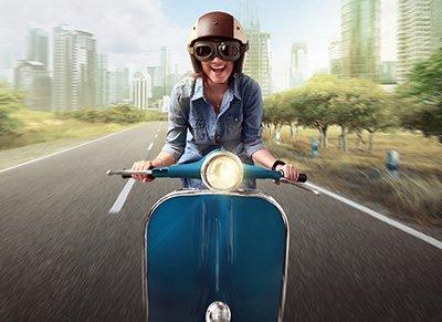Aanmelden scooterrijbewijs