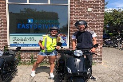Scooterrijles Den Haag